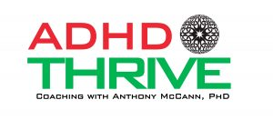 ADHD Thrive Coaching LOGO WHITE 2019